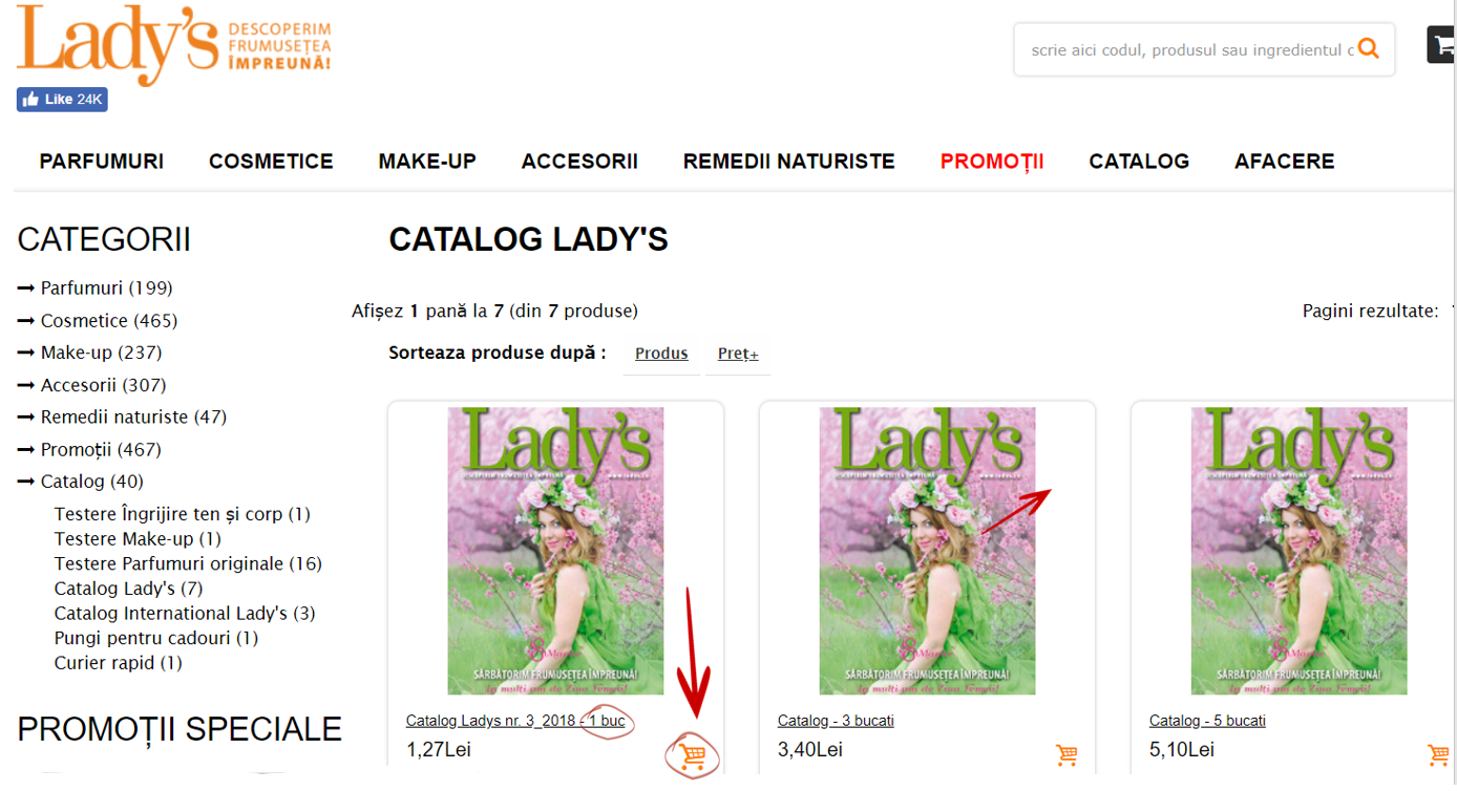 catalog ladys 2018
