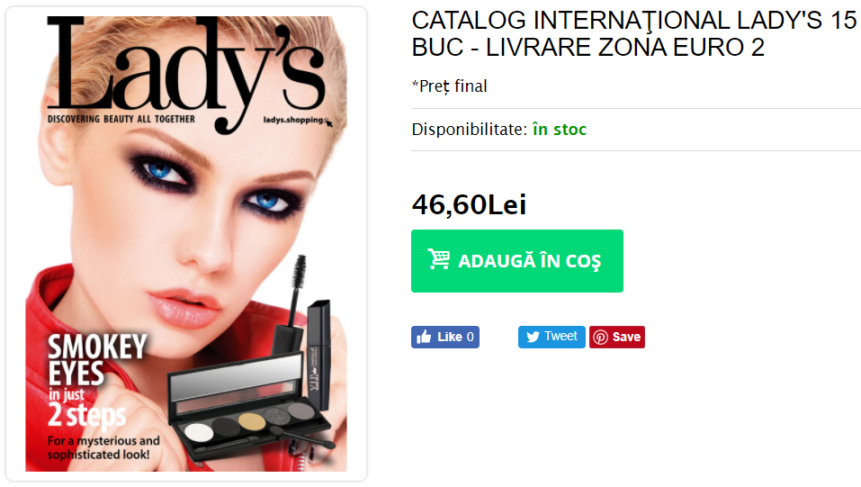 catalog ladys international zona euro 2
