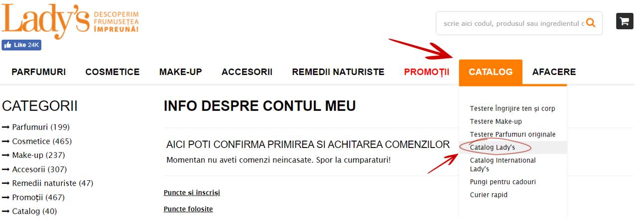 comanda catalog gratuit